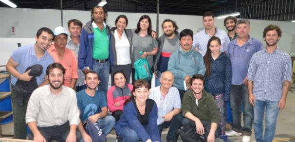 Viaje a la Biofábrica de la comuna de Chabás
