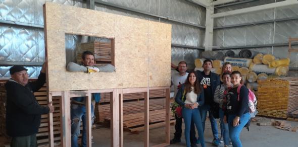 Construcción en Madera: armado de muros y paneles