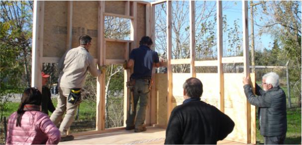 Se realizaron dos cursos en el Centro de la Madera de la Facultad