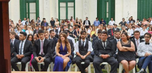 Acto de entrega de diplomas