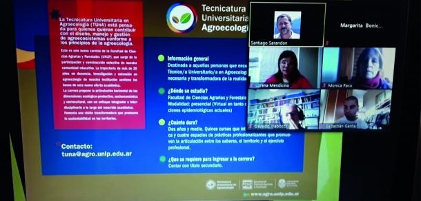 """Finalizó el Curso """"Fundamentos de la Agroecología y la Agricultura Sustentable"""""""