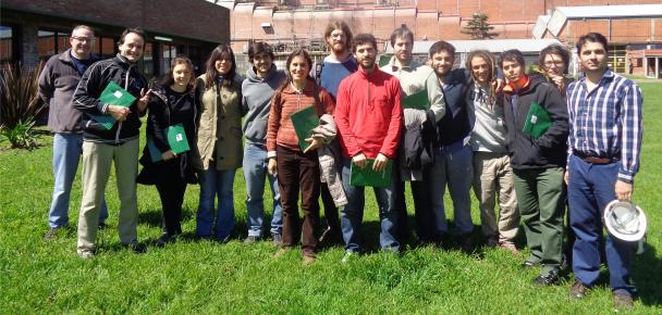 Visita de estudiantes de 5to Año a Papel Prensa