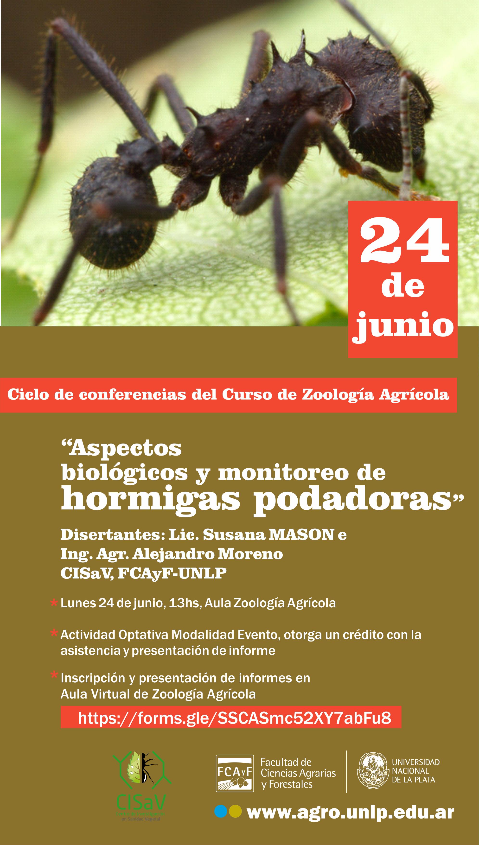 Aspectos biológicos y monitoreo de hormigas podadoras