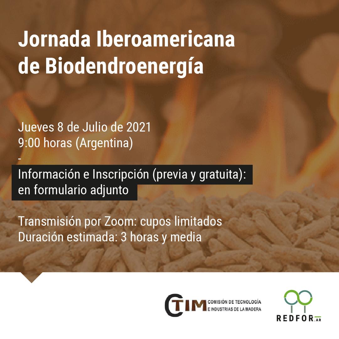 Jornada Iberoamericana de Biodendroenergía
