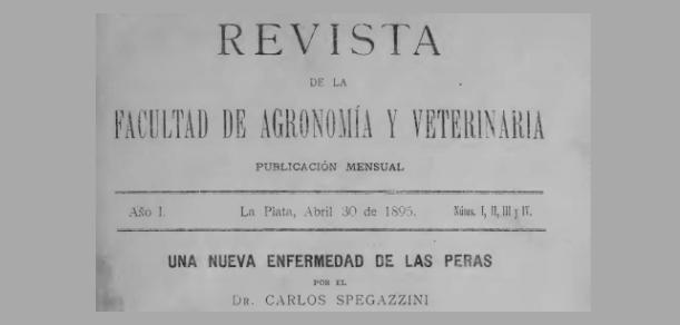 Se encuentran en la plataforma digital de la Revista de la Facultad los números correspondientes al año 1895