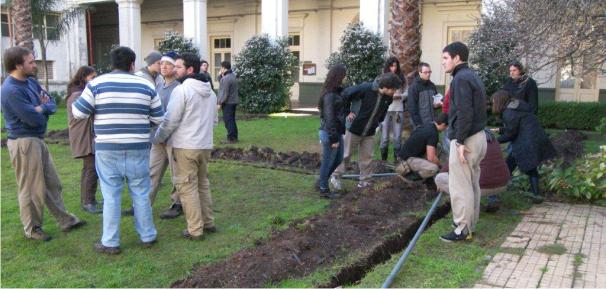 Concluyó una nueva edición del Curso teórico práctico de diseño e instalación de equipos de riego residencial