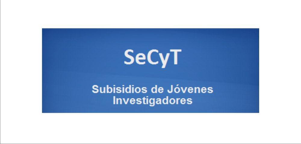 Programa de Subsidios para Jóvenes Investigadores 2015
