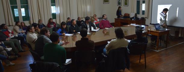 Referentes de seguridad de la UNLP se reunieron en la Facultad