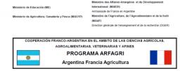 Movilidades académicas estudiantiles a Francia - Programa ARFAGRI (Argentina - Francia - Agricultura)