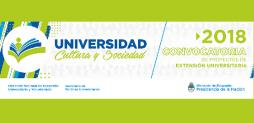Convocatoria de la Secretaría de Políticas Universitarias para proyectos de Extensión Universitaria 2018