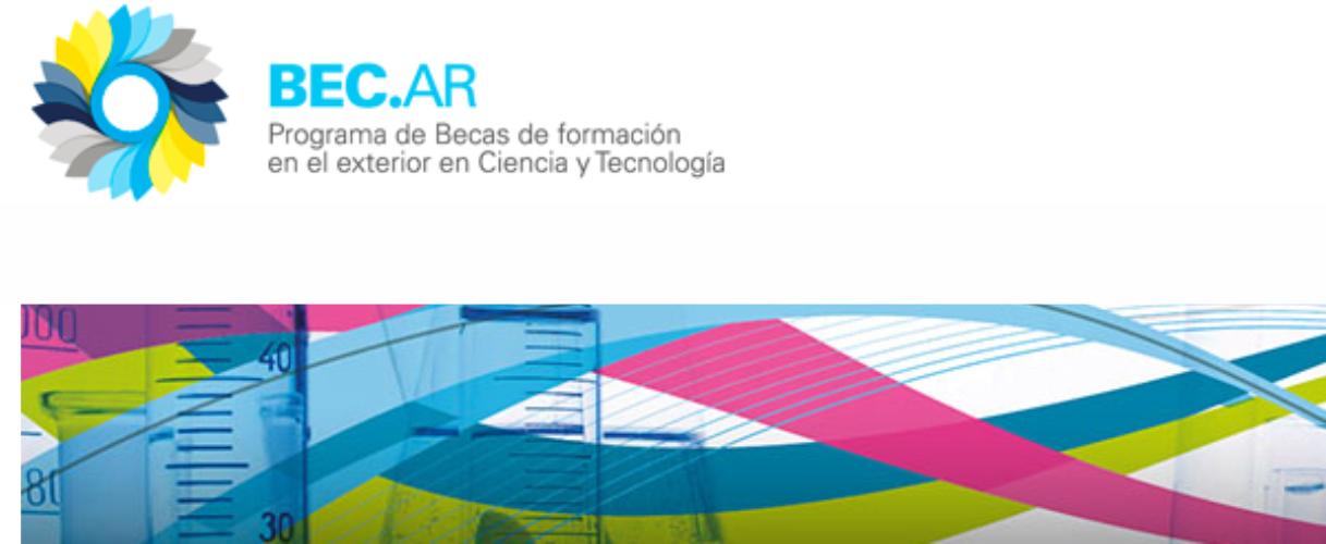 Convocatoria del Programa Bec.ar para Doctorados y Maestrías