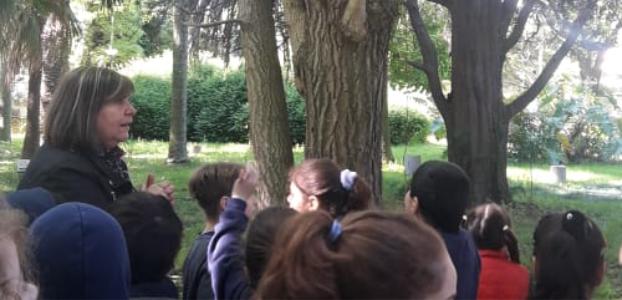 Visita de escuela de la región al Jardín Botánico y Arboretum C. Spegazzini