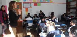 Visita de docentes de Fitopatología al Colegio Euforión