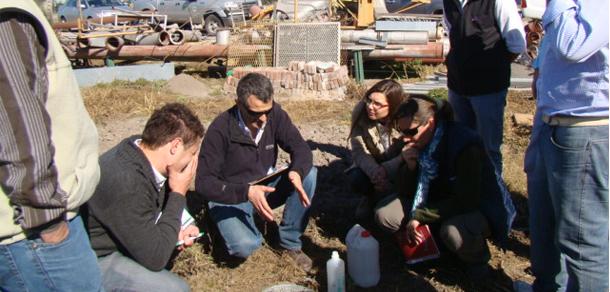 Docentes de la FCAyF dictaron curso en Santa Fe