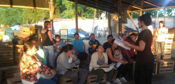 Capacitación a productores hortícolas de la Cooperativa Nueva Esperanza