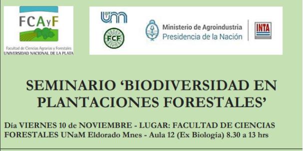 Seminario Biodiversidad en Plantaciones Forestales
