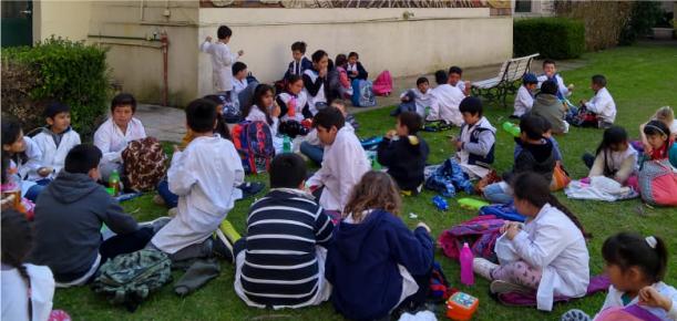 Visitas de escuelas rurales a la Facultad