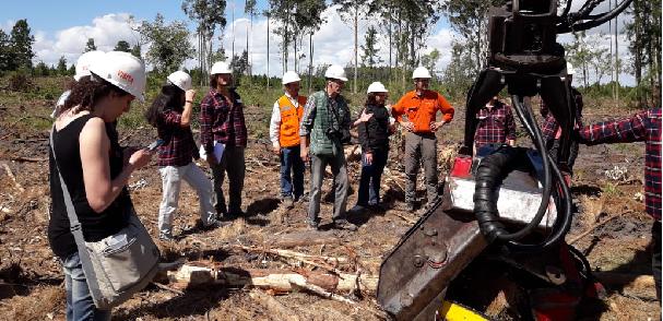 Viaje de estudios de la Carrera de Ingeniería Forestal