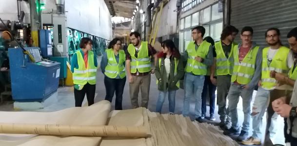 Visita de estudiantes a Empresas e Instituciones del Sector Celulósico
