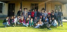 Visita del Centro para la Producción Total (CEPT) Nº 18 de Obligado al Tambo Santa Catalina