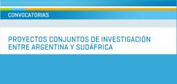 Programa de Cooperación Científico-Tecnológico Argentino-Sudafricano