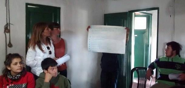 Primera jornada de contrato de trabajo para jóvenes rurales