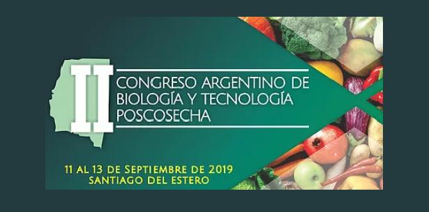 II Congreso Argentino de Biología y Tecnología Poscosecha