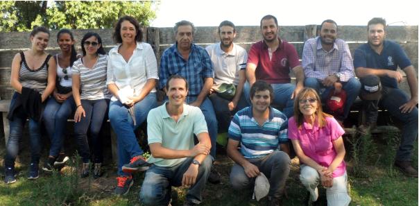 Estudiantes brasileros visitaron nuestros campos
