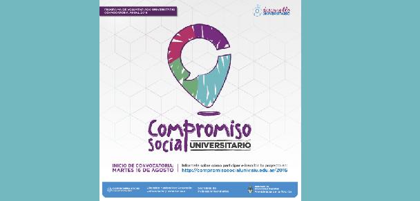 """Programa de Voluntariado Universitario: """"Compromiso Social Universitario¨"""