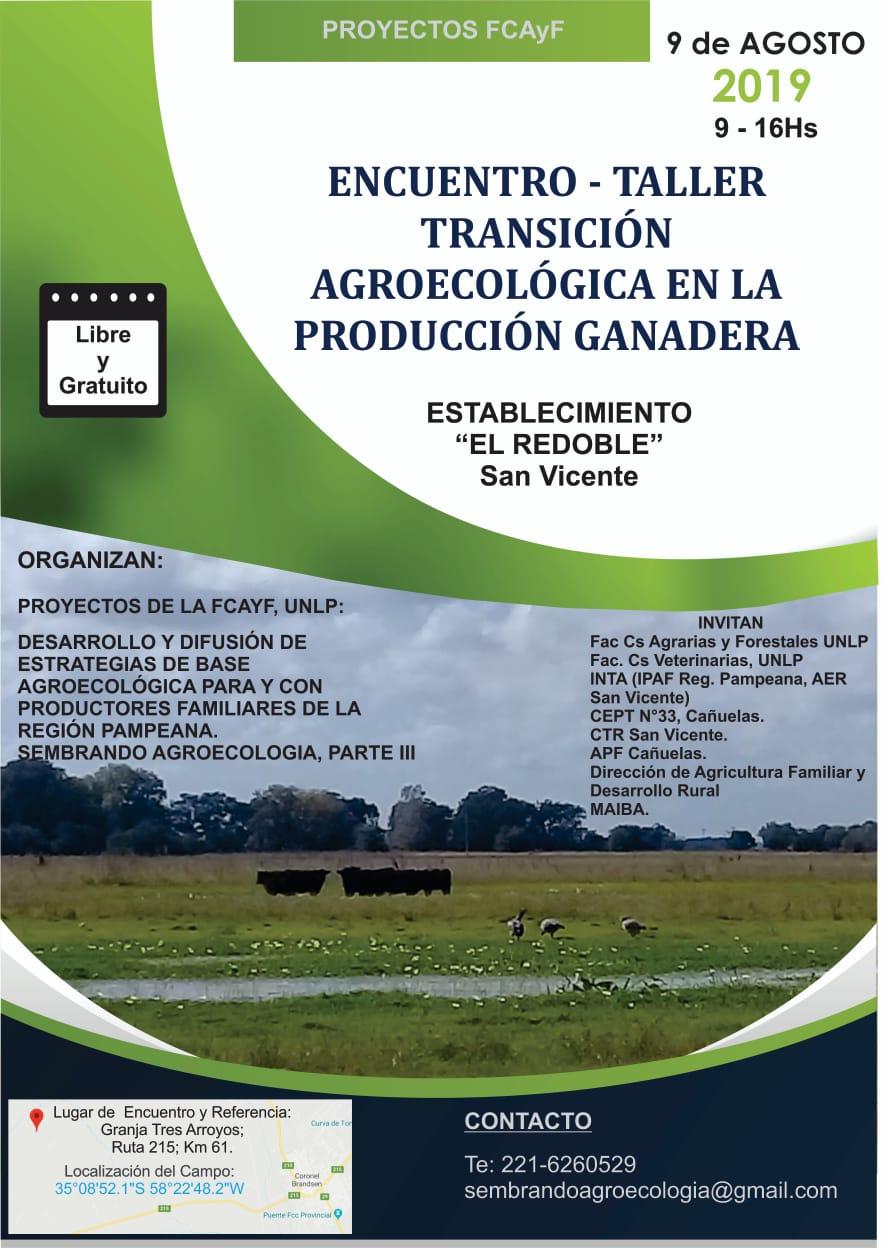 Encuentro-Taller Transición agroecológica en la producción ganadera